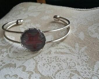 Winter Soldier cuff bracelet