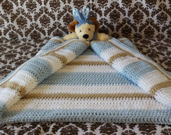 Crochet Blanket - Crochet Baby Blanket - Crochet Throw