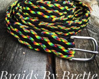 Custom Paracord Braided Belt