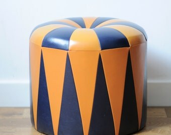 Retro Pouffe Foot Stool