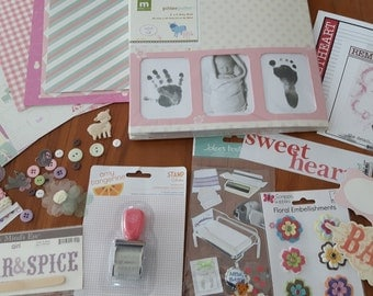 Baby Girl album kit, great gift!