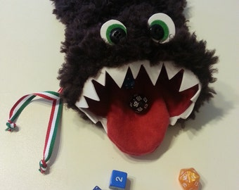 Monstrous Monster dice bag-Monster dice bag