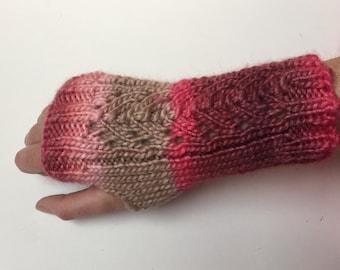 Fishtail Wrist Warmers