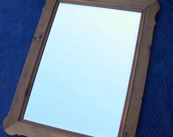 Rare Ethan Allen Dresser Mirror - Beveled - Farmhouse Pine Collection - 23-5010