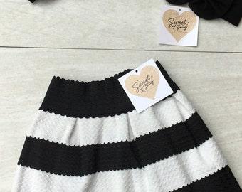 channel skirt, toddler bandage skirt, toddler skirt, girls skirt, breakfast at tiffanys,