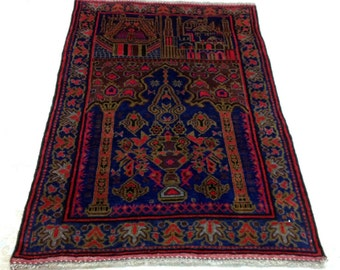 Beautiful afghan balouch rug
