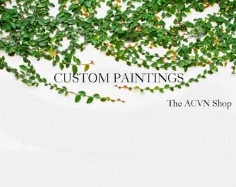 Custom Paintings by ACVN