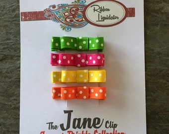 The Jane Clips - Summer Brights Collection
