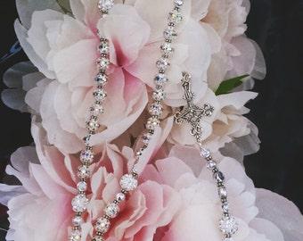 Handmade Crystal Rosary
