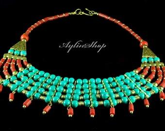 Handmade etnic dizayn necklace