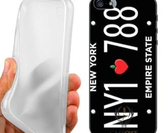 New york license plate case cover for iphone 5 5s