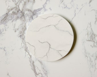 Marble Pattern Pocket Mirror -1