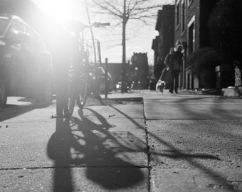 Bike Shadow - Film Photography Print