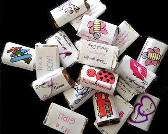 Custom created and personalized candies for your Party favors!