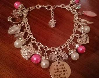 charm bracelett  / handmade
