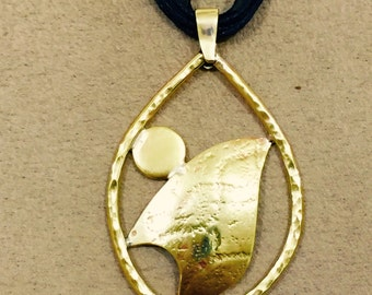 gold covering medallion