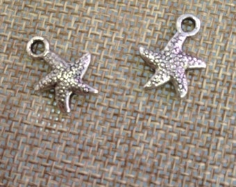 5 Starfish pendants