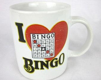Vintage Bingo Mug