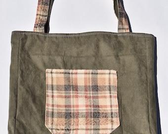 Reversible reusable bag