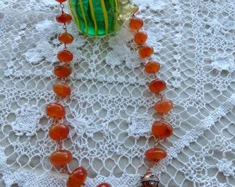 jewelry,necklace, carnelian,