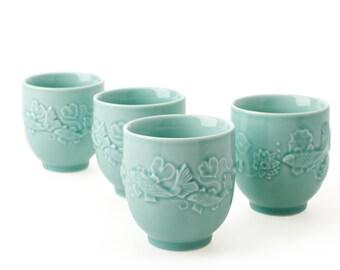 Golden Carp Cups