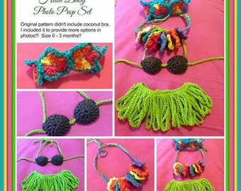 Crocheted Hula Set