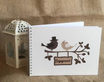 Engagement Bird Keepsake Book