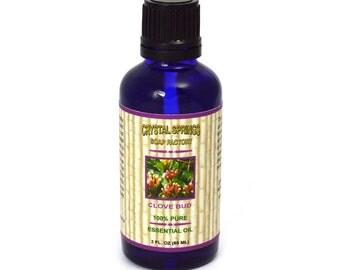 Clove Bud Essential Oil, Aromatherapy, Clove Bud Oil, Clove Essential Oil, Natural Body Care, Pure Essential Oil, 2 oz 60 mL