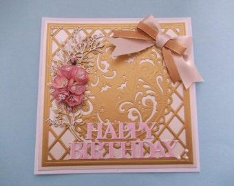 hand made birthday card 2