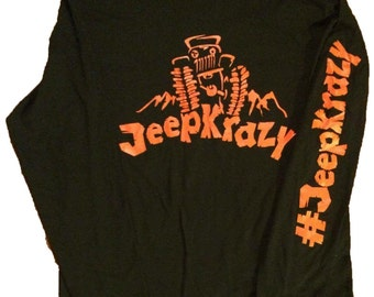 JeepKrazy long sleeve t-shirt