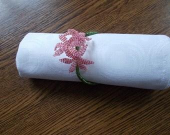 10 Wedding napkin rings, jute twine, rustic wedding decor, table decor, gift idea, napkin rings wedding