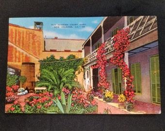 Vintage 1930s New Orleans Postcard