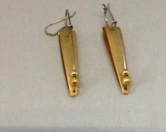 Geometric modern earrings