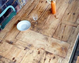 Tisch Landhaus-Stil, Bauholz Susanne 200x120 cm