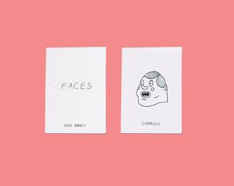 Faces - mini zine