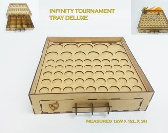Infinity the Game Tournament Tray from Mini Duels