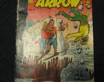 Straight Arrow Comic Book