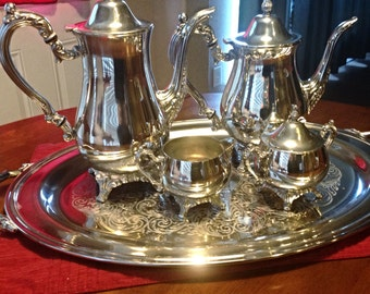 Oneida Silver Tea Set