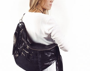 SALE! 40% discount. Bag Togo leather black luxus, (previously 120, 00EUR)