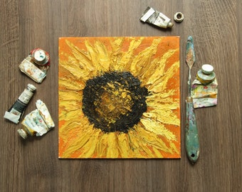 Original Oil Painting 'Sunflower'