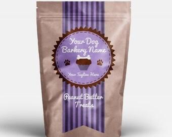 Premade Pet Bakery Logo - Pupcakes! - pet bakery dog bakery pet treats dog treats customizable