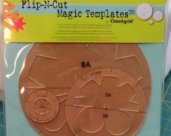 Omnigrid Flip-N-Cut Magic Templates, Set 2