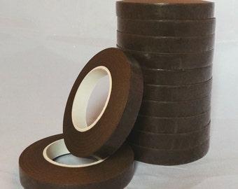 1 Roll Brown Stem-Tex Floral Tape 13mm Wide