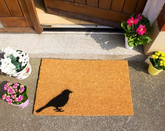 Quirky Bird doormat - 60x40cm