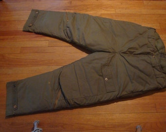 1940's WWII Military Type-8 Aviator pants
