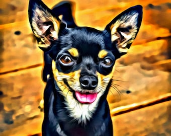 Chihuahua - Print or Canvas