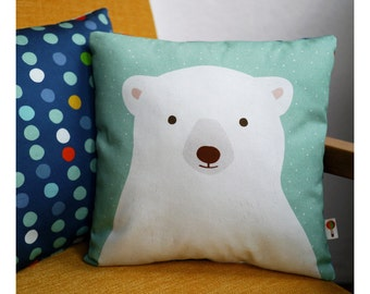 Polar bear pillow bio