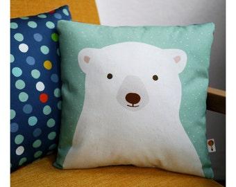 Polar bear pillow bio