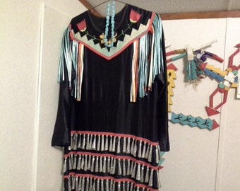 Apache wedding dress