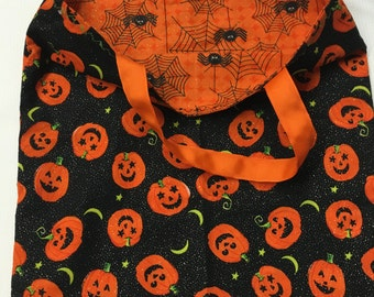 Trick or Treat Bags(Reversable)